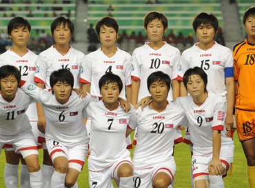 Credit: Steve Bardens - FIFA/FIFA via Getty Images. The Korea DPR side that lost out in the finals to France.
