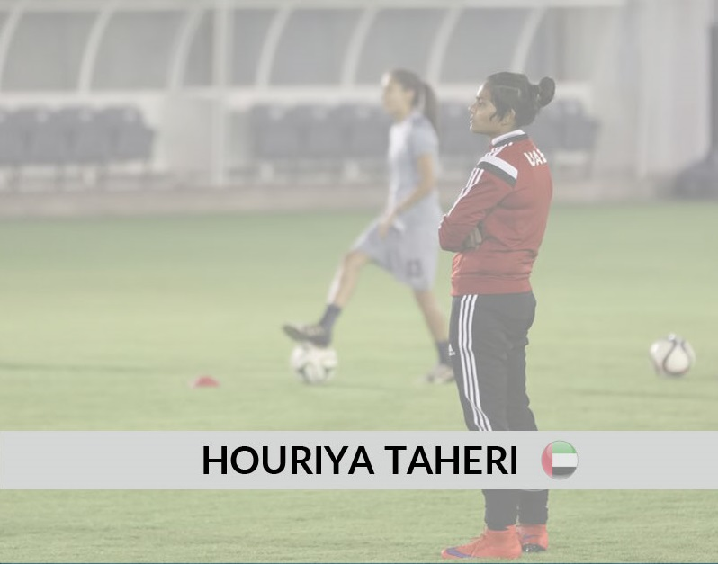 Quick-fire: Houriya Taheri – Assistant Coach (UAE Women's National Team)