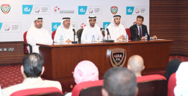 Good Times For UAE Football As du UAE FA Academy League Launched